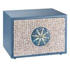 Sea Mosaic Cremation Urn