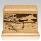 Shining Seas Keepsake Cremation Urn