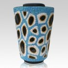 Water Mosaic Cremation Urn