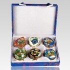 Variety Set Cloisonne Cremation Urns