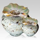 Milano Chartreuse Glass Cremation Urns