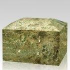 Vert Square Marble Cremation Urn