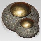 Victorian Ivy Ceramic Cremation Urns
