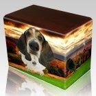 Autumn Walnut Pet Picture Urn III