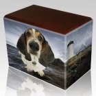 Lighthouse Pet Picture Walnut Urns