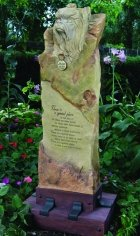 Yorkie Large Cremation Memorial