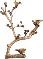 Doves on a Branch Bronze Statues