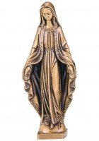 Mary Medium Bronze Statues