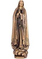 Virgen De Fatima Bronze Statues II