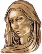 Madona Wall Bronze Statues