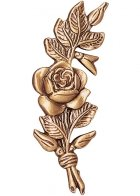 Roses Wall Bronze Statues
