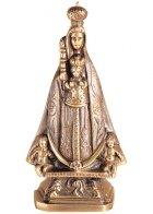 Virgen De Begona Wall Bronze Statues