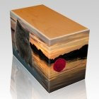 Swimming Hole Pet Picture Oak Urns