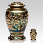 Golden Flower Cremation Urns