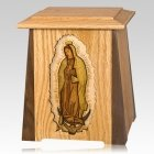 Our Lady of Guadalupe Cremation Urn