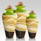 Celestial Lime Cremation Urns