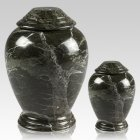 Green Classica Marble Cremation Urns