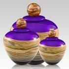 Memoriam Purple Art Cremation Urns