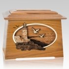 Sea Coast Oak Aristocrat Cremation Urn