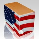 Patriotic Child Cremation Urns