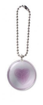 Heart Blessing Stone on a Chain