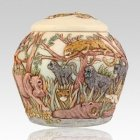 Jewel of the Jungle Pet Cremation Urn