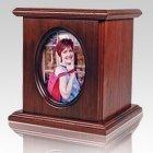 Ceramic Picture Portrait Cremation Urn