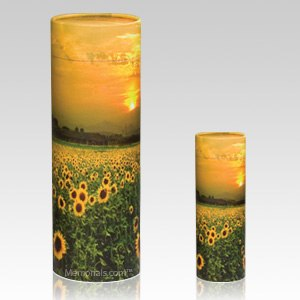 Sunflower Scattering Biodegradable Urns