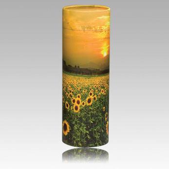Pet Sunflower Biodegradable Scattering Urn