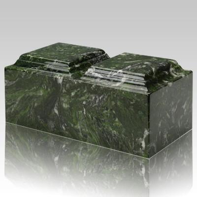 Verde Marble Companion Urn