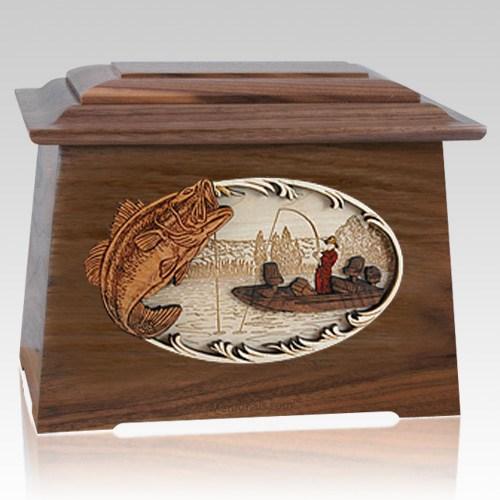 Catch of the Day Walnut Aristocrat Cremation Urn