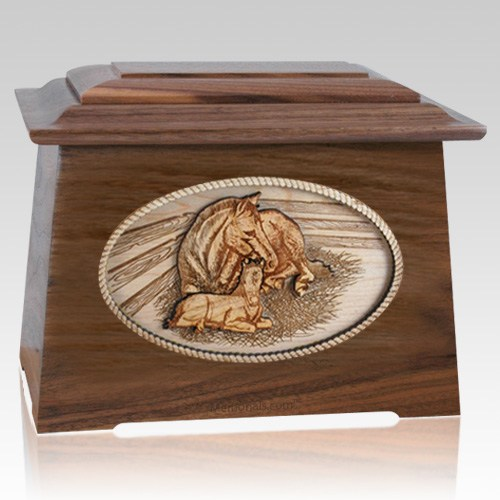 Daddys Love Walnut Aristocrat Cremation Urn