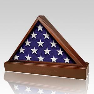 Madison Wood Flag Display Case