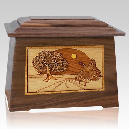 Turkey Walnut Aristocrat Cremation Urn