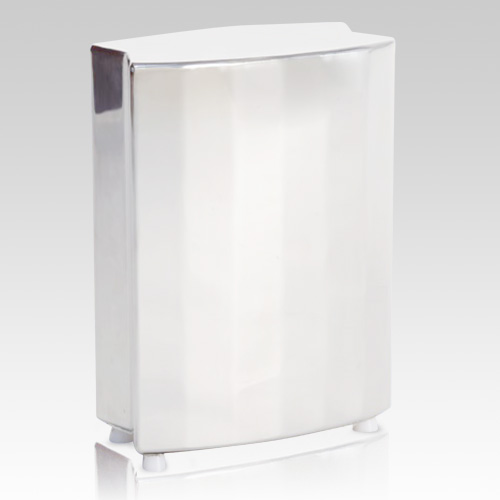 Montparnasse White Cremation Urn