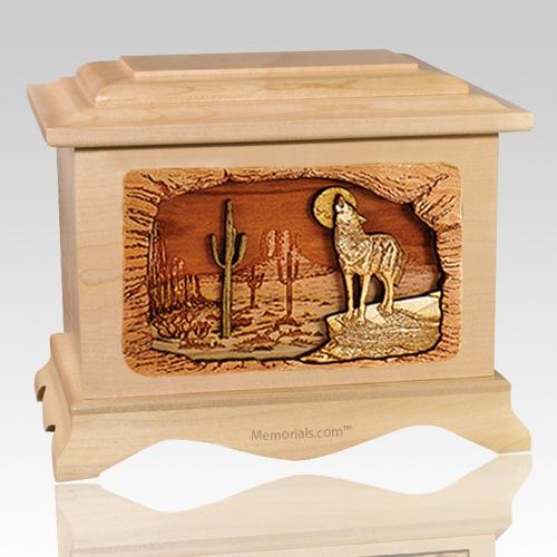 Desert Moon Maple Cremation Urn