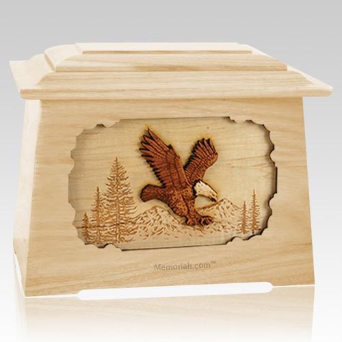 Eagle Maple Aristocrat Cremation Urn