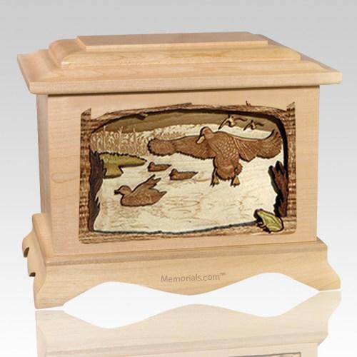 Marshland Melody Maple Cremation Urn