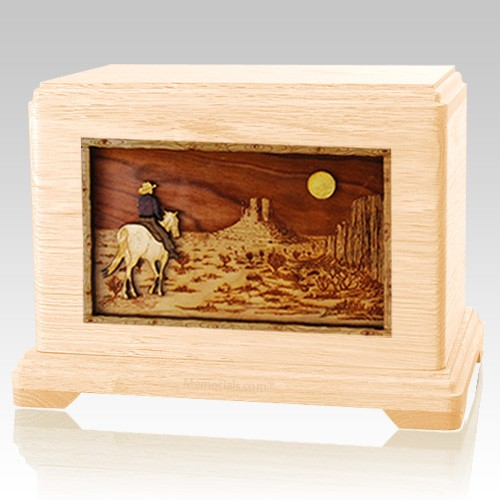 Horse Moon Maple Hampton Cremation Urn
