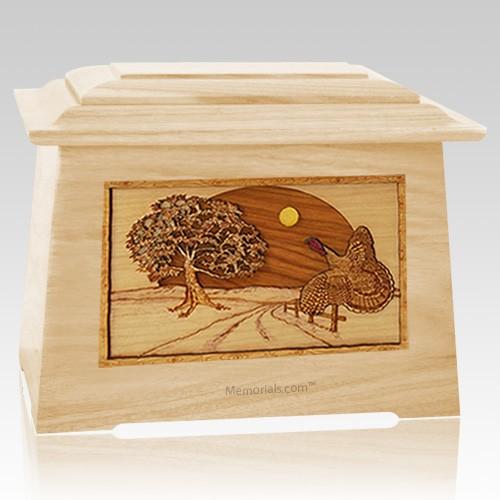 Turkey Maple Aristocrat Cremation Urn