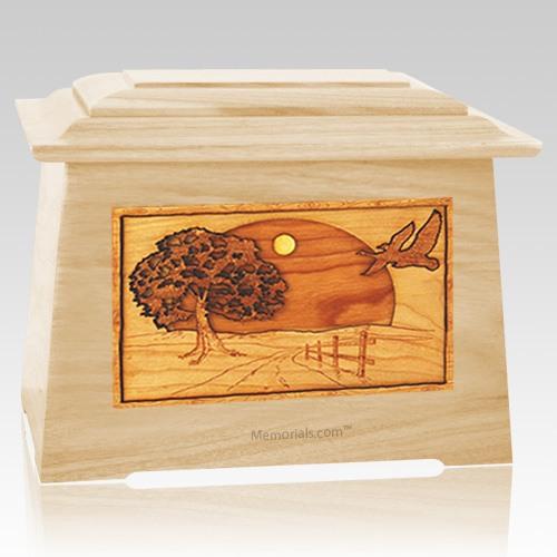 Geese Maple Aristocrat Cremation Urn