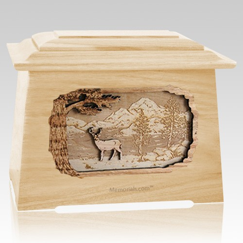 Deer Maple Aristocrat Cremation Urn
