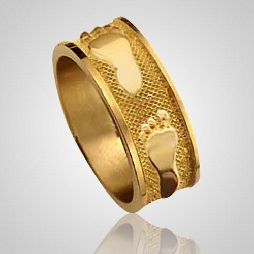 Heirloom Ring Print 14k Yellow Gold Keepsakes
