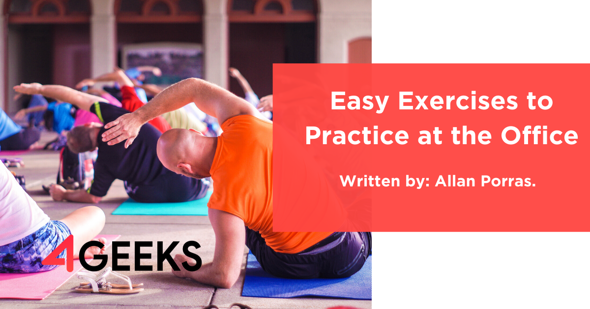 Easy Exercises to Practice at the Office