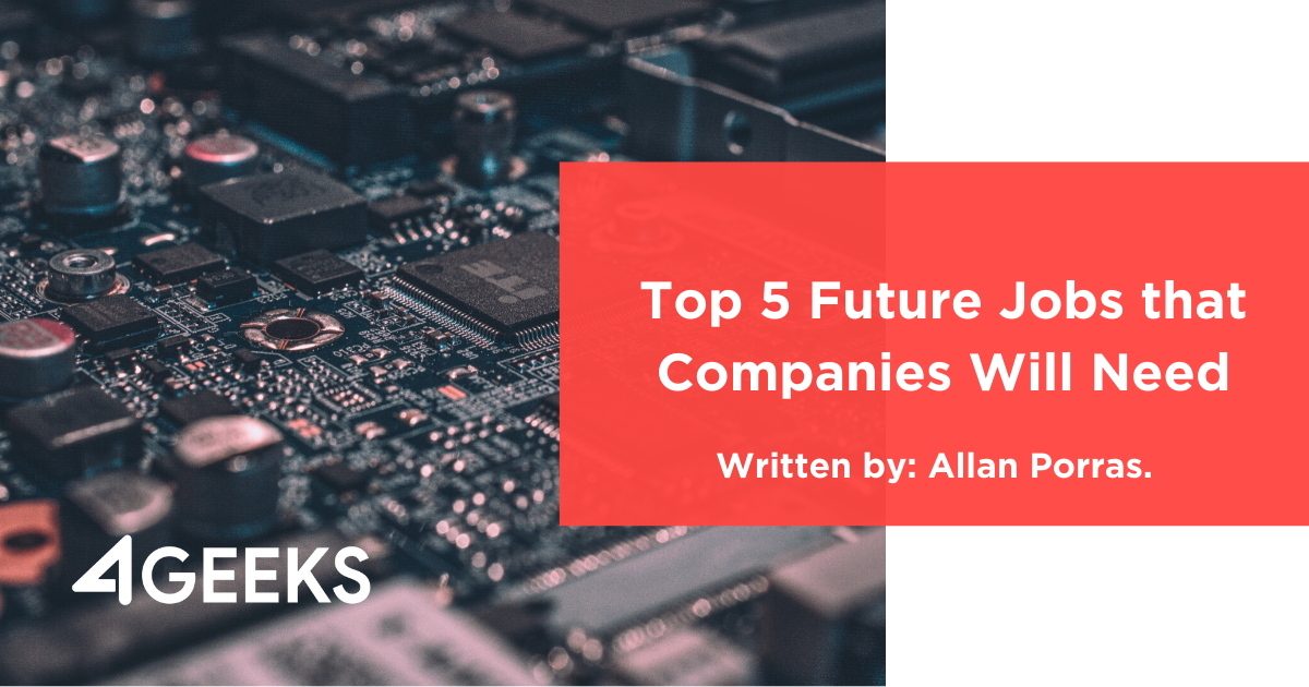 Top 5 Future Jobs that Companies Will Need