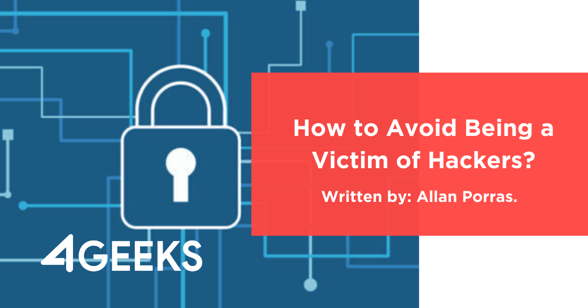 How to Avoid Being a Victim of Hackers?