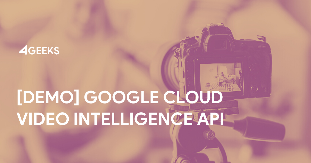 Demo to Implement Google Cloud Video Intelligence API