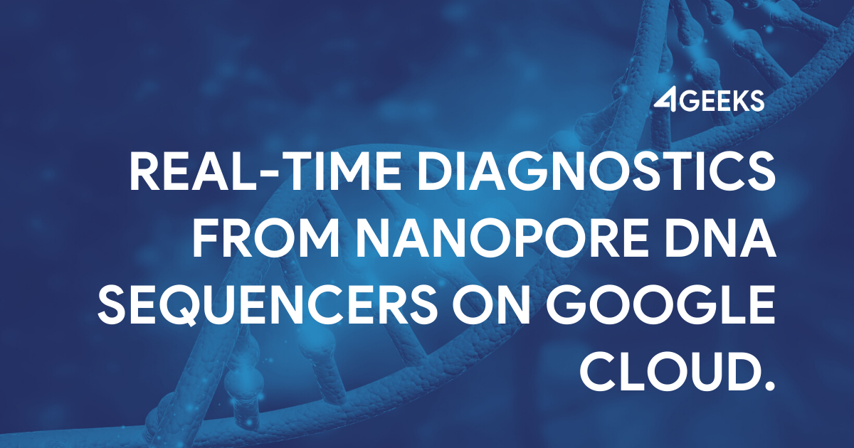 Real-time Diagnostics From Nanopore DNA Sequencers on Google Cloud (Proof of Concept)