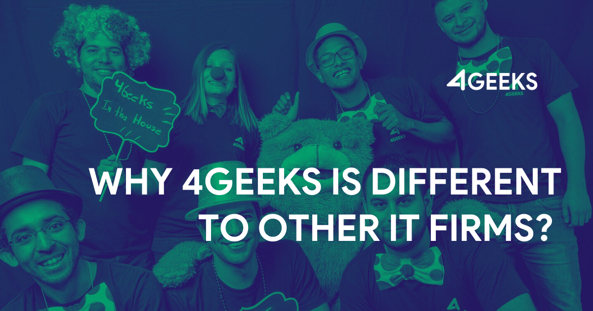 Why 4Geeks is Different to Other IT Firms? Here is 3 Key Points To Understand It