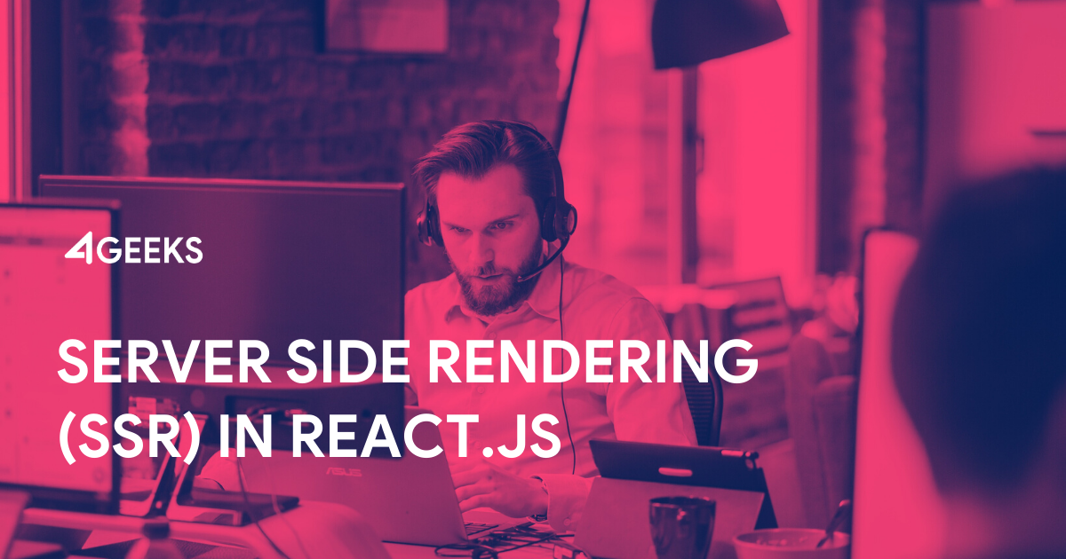 Server Side Rendering (SSR) in React.js With No Extra Configuration